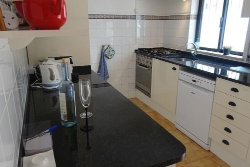 The kitchen of Vila Maria.