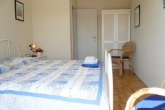 Our second bedroom from Vila Maria, with two single beds.