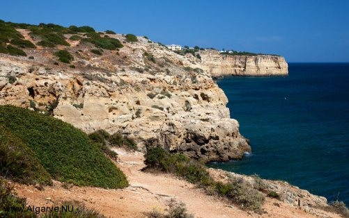The beautiful coast of the Algarve, Portugal