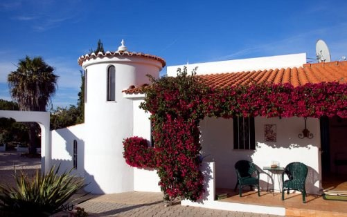 A typical portuguese style villa in the Algarve, Vila Maria.