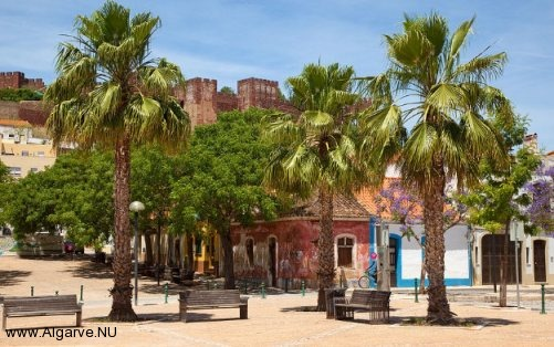 A picture from the old castle in Silves, one of the Algarve tourist destinations.