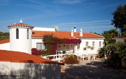 A picture from our Villa, Vila Maria in the Algarve, Portugal.