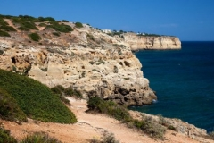 The beautiful coast of the Algarve, Portugal