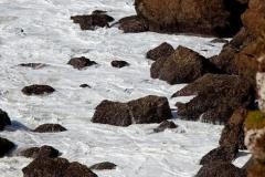 The sea and the rocks, Algarve, Portugal.