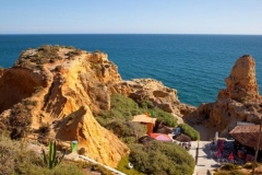 One of the tourist spots of the Algarve, Portugal.